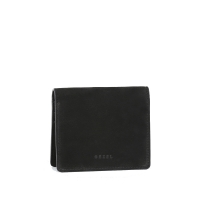 Modern fringe a little wallet _Black
