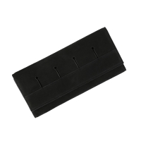 Modern fringe wallet _Black