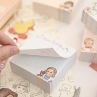 paper doll mate memo block