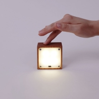 Square lamp 우드 간접조명