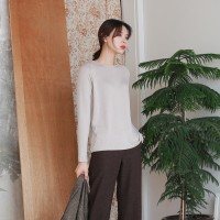 Daily wearable round tee