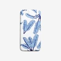 BANANALEAF BLUE PHONE CASE