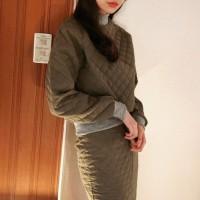 Quilting skirt set