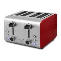 러셀홉스 4구 올스텐 토스터기 RH-D8590R 레드