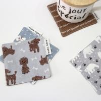 [haku.haru] animal friends coaster
