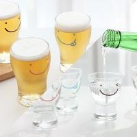 스마일 프렌즈 맥주컵4P + 와글와글 소주잔 6P