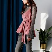 Glitter see-through blouse