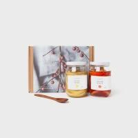 [설선물]과일청2종+옻스푼 선물세트