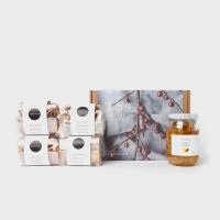 [설선물]과일청1종+곡물쿠키4종 선물세트