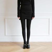 Soft mini wrap skirt