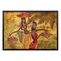 1000조각 직소퍼즐▶ 과일을 수확하는 여자들 (PK1000-3142)