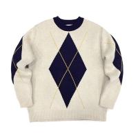 Bold Argyle Sweater(unisex)