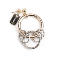 [자체제작] rose gold earring