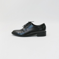 Black manish loafer