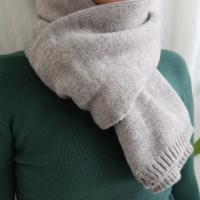Wool simple muffler