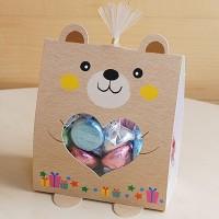 발나온 스텐드트레이세트-곰