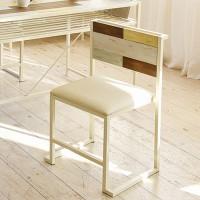 히토리 크림 원목 의자