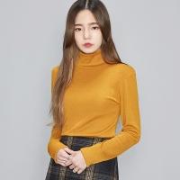 warm half neck soft polar T (6 colors)_(482728)
