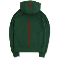 Back Message Hoodie(Green)