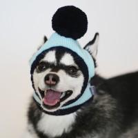 Mint Pompom Knit Hat