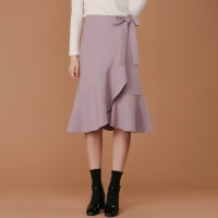 opening frill wrap Skirt