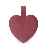 Melting Felt Heart Bag (인디핑크)
