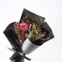 네츄럴 들꽃 믹스 블랙 꽃다발