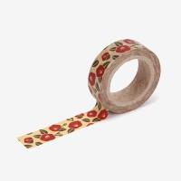 Masking tape single - 81 Camellia flower