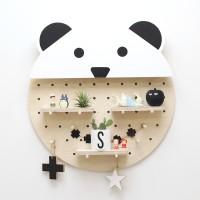 자작나무 팬더 타공판