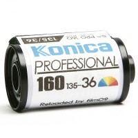 코니카 컬러필름 160-36컷 / Konica Pro 160 Film [감은필름]