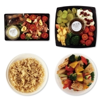 1일2식(샐러드+한끼밥찬)식단 1주배송(총6일분/3회분할배송)