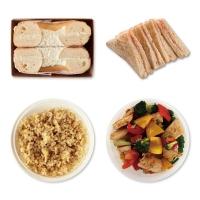 1일2식(모닝빵+한끼밥찬)식단 2주배송(총12일분/6회분할배송)