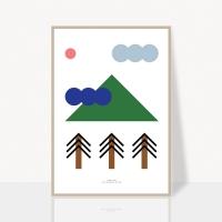 mountain climb poster