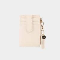 [태슬증정][살랑]Dijon 201S Flap mini Card Wallet cream beige