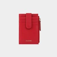 [살랑]Dijon 201S Flap mini Card Wallet cherry red