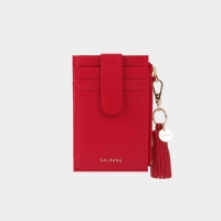 [태슬증정][살랑]Dijon 201S Flap mini Card Wallet cherry red