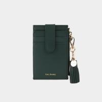[태슬증정][살랑]Dijon 201S Flap mini Card Wallet olive green