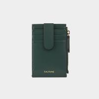 [살랑]Dijon 201S Flap mini Card Wallet olive green