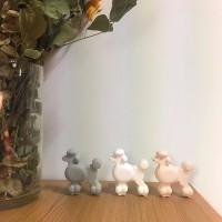 강아지 - 푸들 석고방향제 (차량용,탁상용)