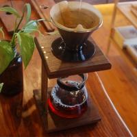 원목 커피 드리퍼