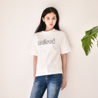 메르시 자수 티셔츠