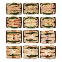 샌드위치 정기배송 1주 프로그램 (총6일분/3회분할배송)