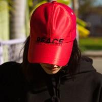 UNISEX NEW GLOSS BASEBALL CAP aaa042u(Red)