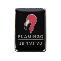 UNISEX HAWAIIAN PIN aaa044u(FLAMINGO)