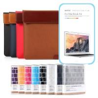 스탠드파우치2/키스킨/액정필름 SET for 맥북12