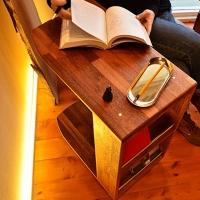 침대소파 사이드테이블
