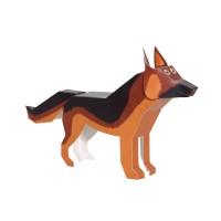[Pukaca] D.I.Y 3D 페이퍼 토이 _ 강아지들 (4 Kids dogs)