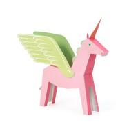 [Pukaca] D.I.Y 3D 페이퍼 토이 _ 핑크 페가콘 (Pink Pegacorn)