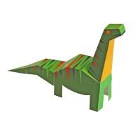 [Pukaca] D.I.Y 3D 페이퍼 토이 _ 공룡들 (4 Dinosaurs)