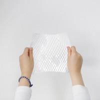 화이트 아코디언 포장지(5개)